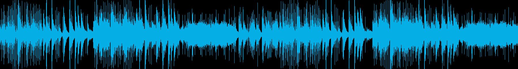 琴と和楽器による 切ない和風ループの再生済みの波形