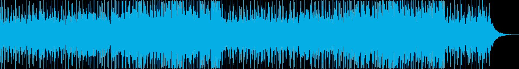 爽やかでお洒落な洋楽 アコースティックの再生済みの波形