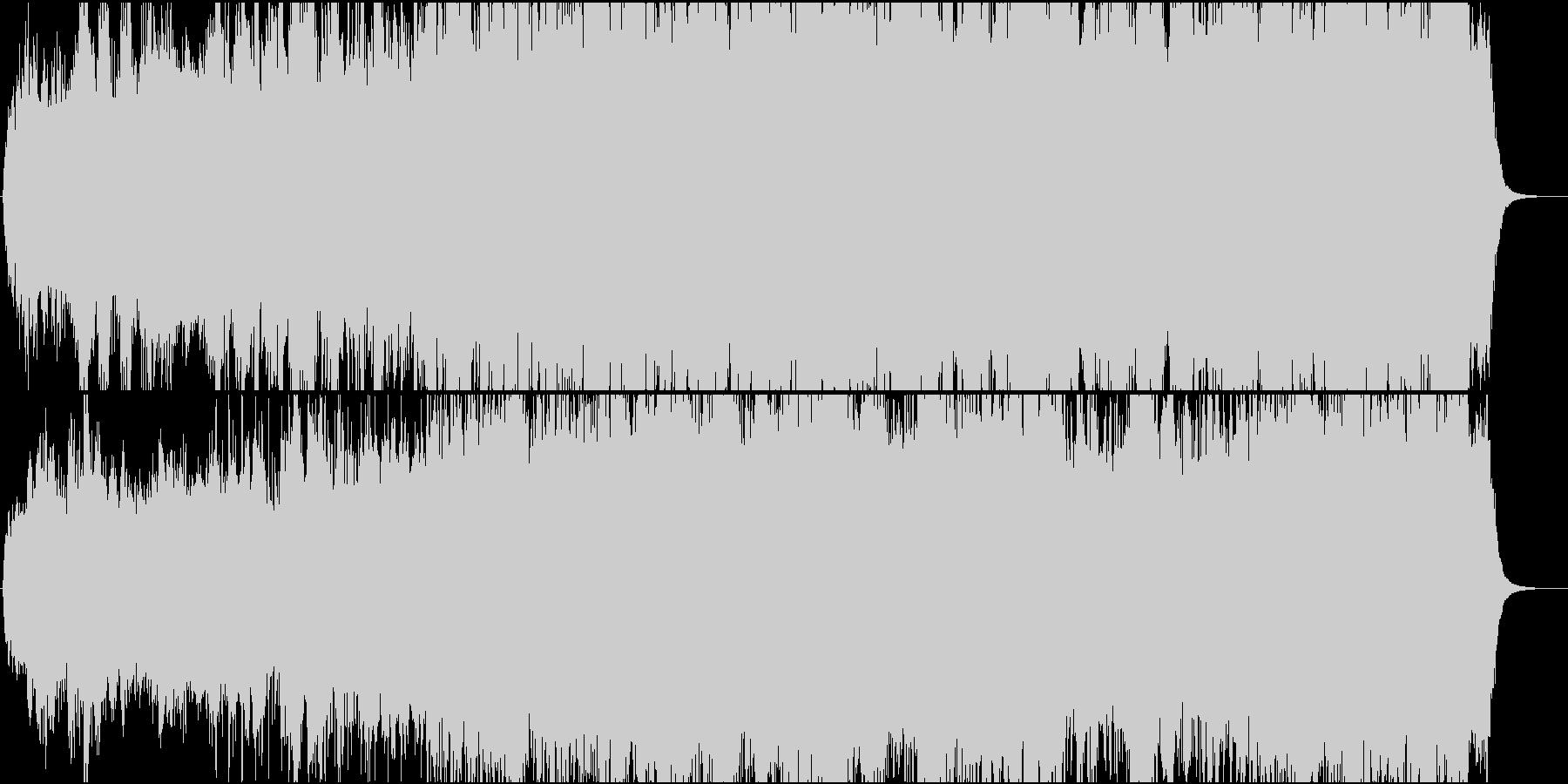 ドキュメンタリーなどの映像に(WAV)の未再生の波形