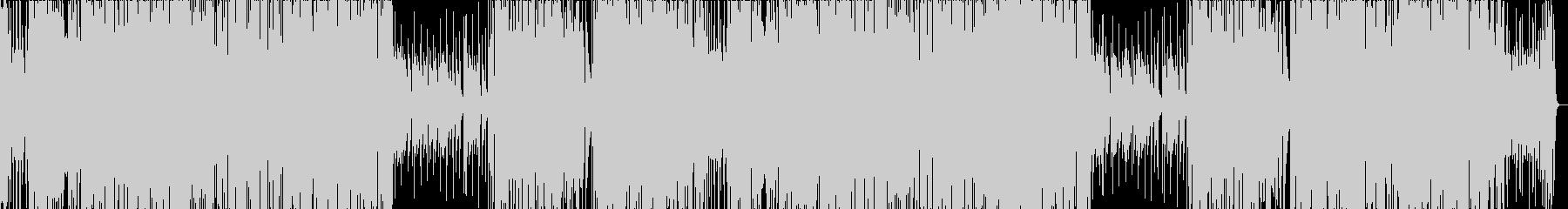 ピンチ・チャンスを感じるディスコジャズの未再生の波形