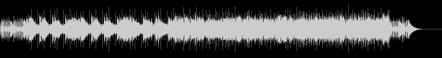 リリカルなメロディのポップ・バラードの未再生の波形