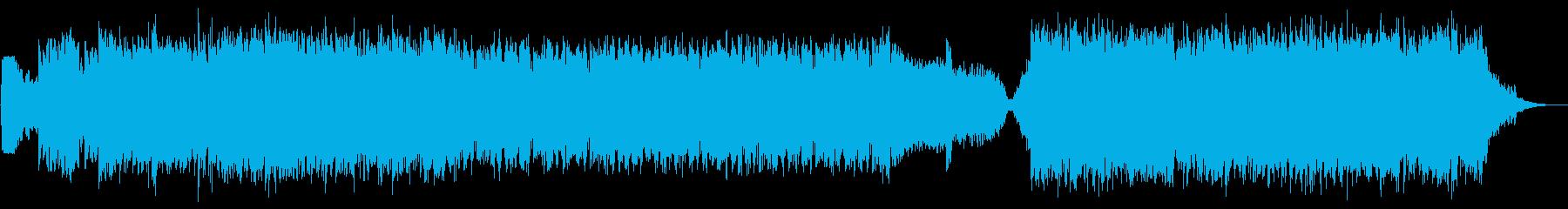 壮大でカッコいい和風戦闘曲【モンハン風】の再生済みの波形