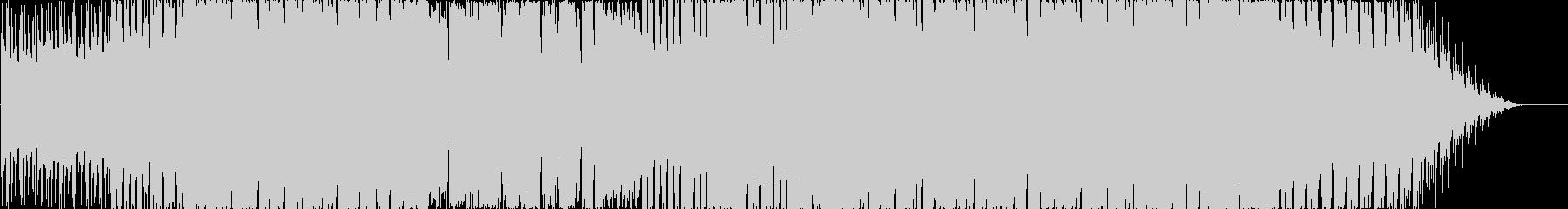 エモーショナルなトロピカルBGMの未再生の波形