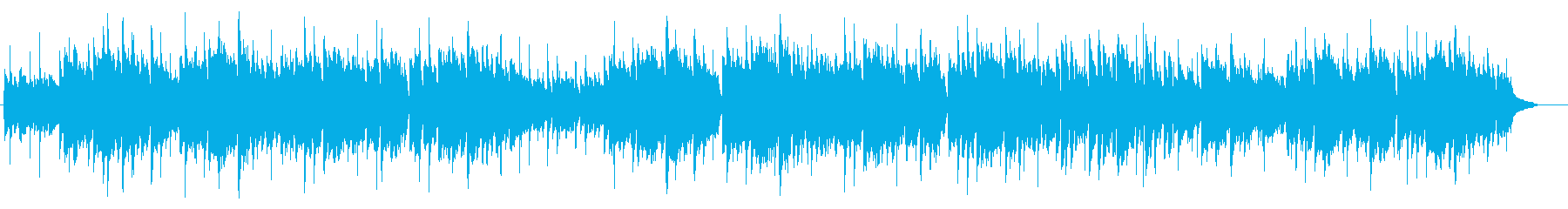 アコーディオン英国民謡グリーンスリーブスの再生済みの波形