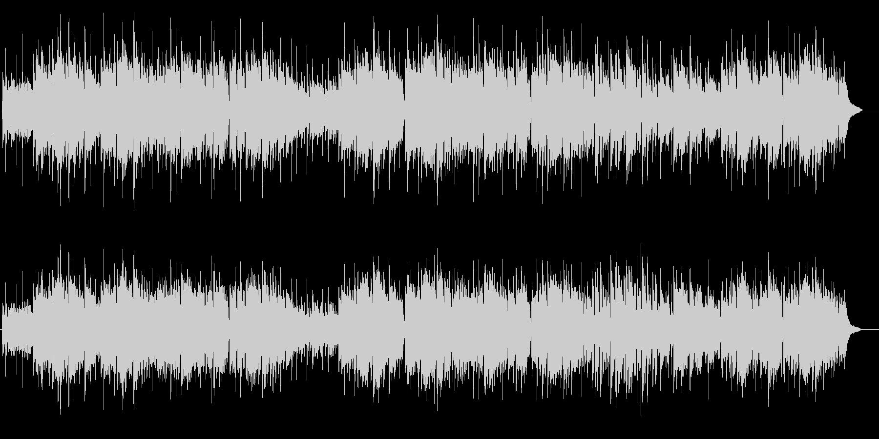 アコーディオン英国民謡グリーンスリーブスの未再生の波形