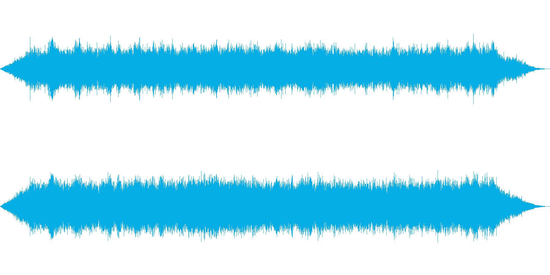 海 波 浜辺 海岸 カモメの環境音 14の再生済みの波形