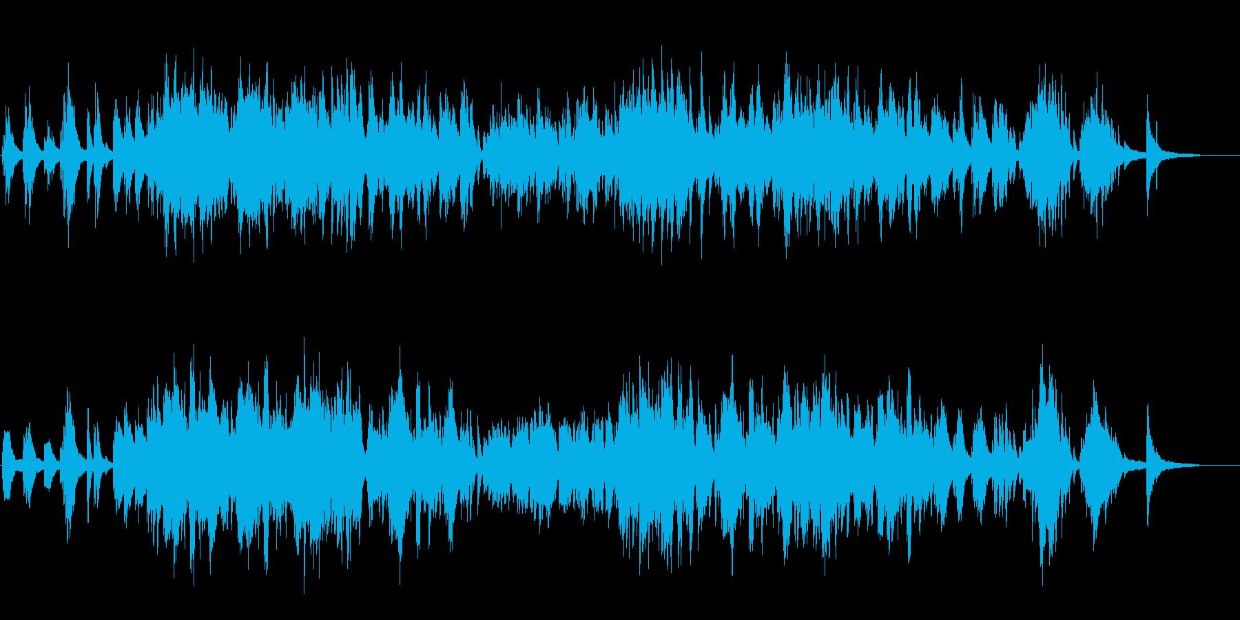 生ピアノで奏でる美しい日本の歌:浜辺の歌の再生済みの波形