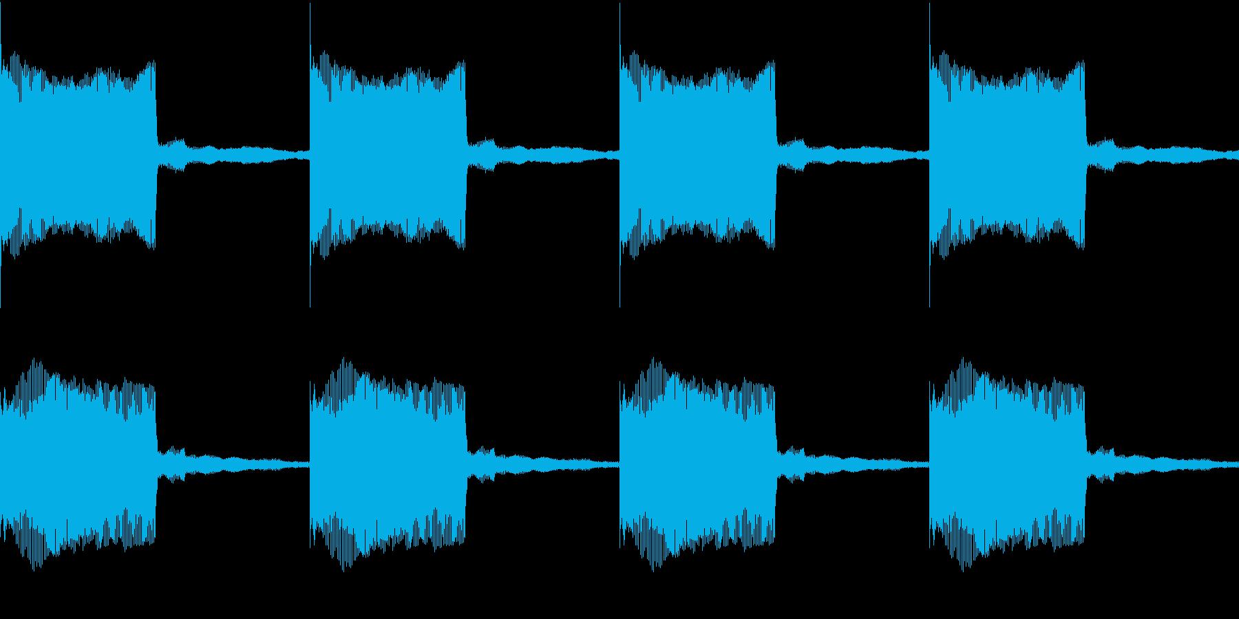 Buzzer アトラクション ブザー 2の再生済みの波形