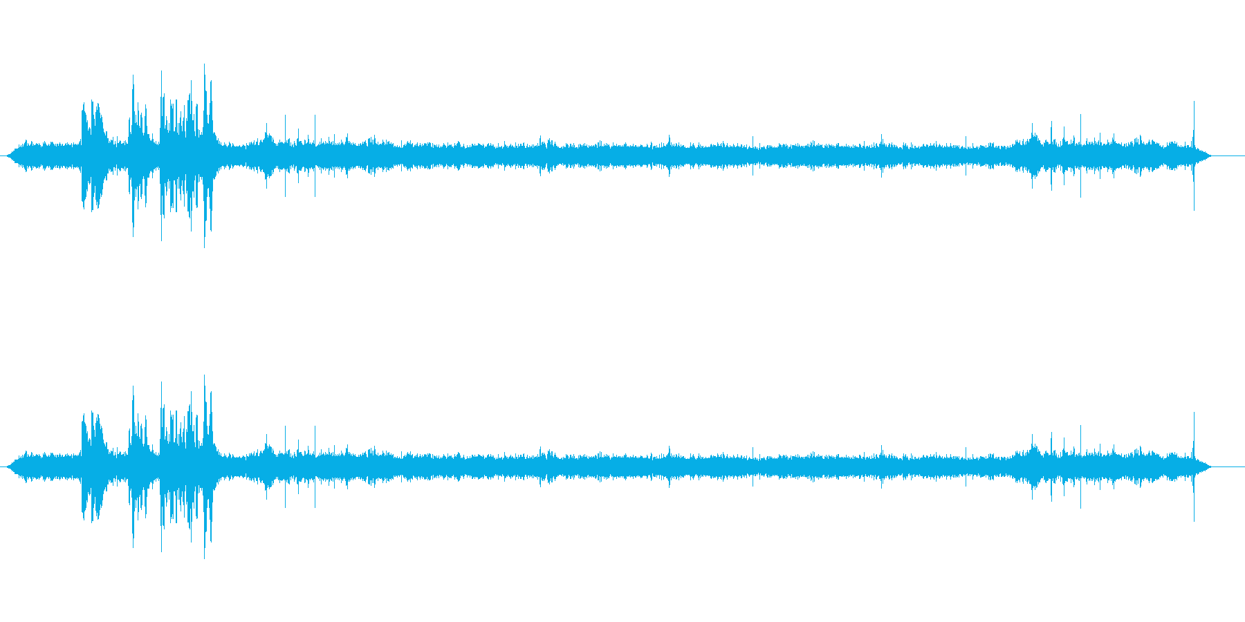 家の解体の再生済みの波形