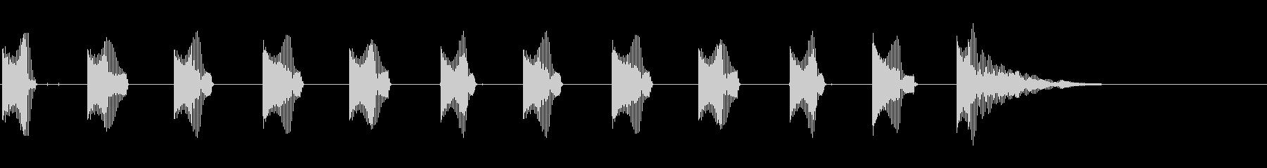 スモールジョーズハープ:ホッピング...の未再生の波形