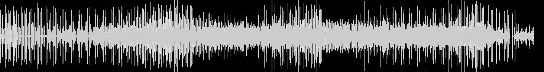 クールなギターのミニマルファンクの未再生の波形