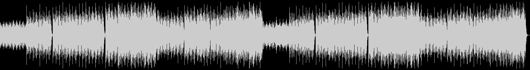 明るく躍動的なポップオーケストラxフル2の未再生の波形