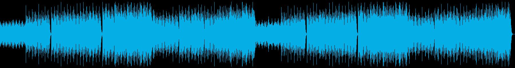 明るく躍動的なポップオーケストラxフル2の再生済みの波形