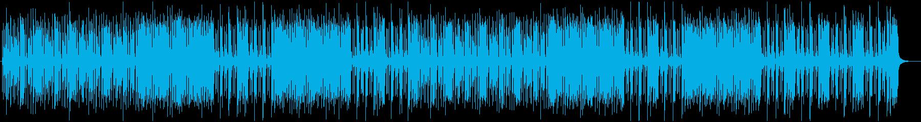 瞬発力のあるブルースロック調ポップスの再生済みの波形
