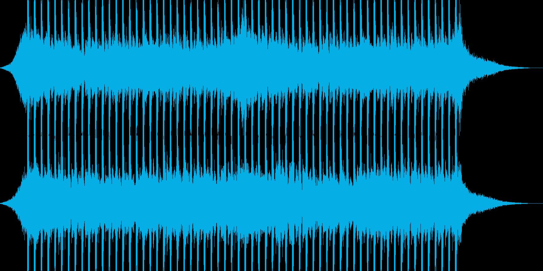 企業VP向け、爽やかポップ4つ打ち4-2の再生済みの波形