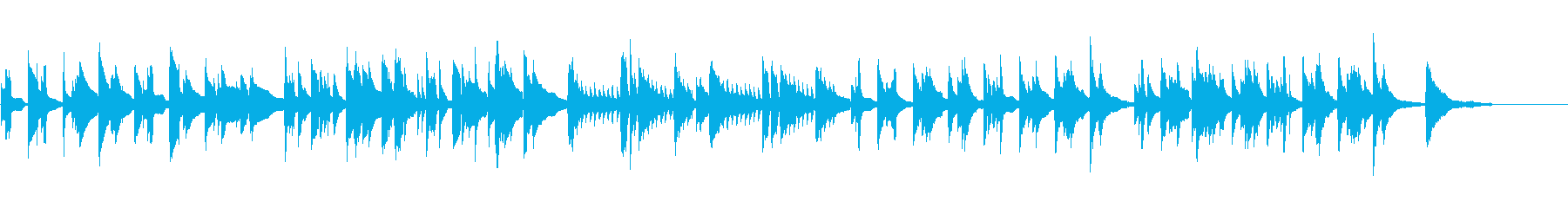 Playmate in the scene thinking alone's reproduced waveform