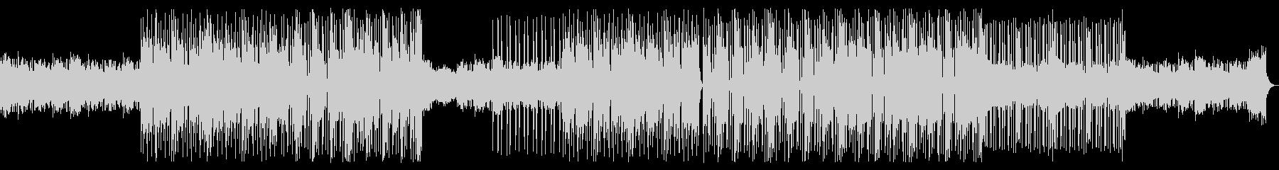 シンプルなドラムンベースの未再生の波形
