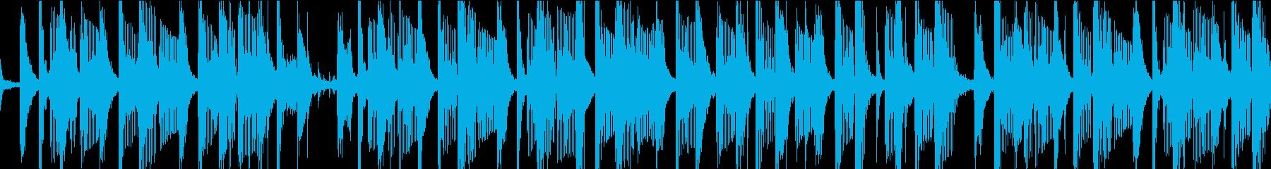 きれいに流れるレゲエトラック。穏や...の再生済みの波形