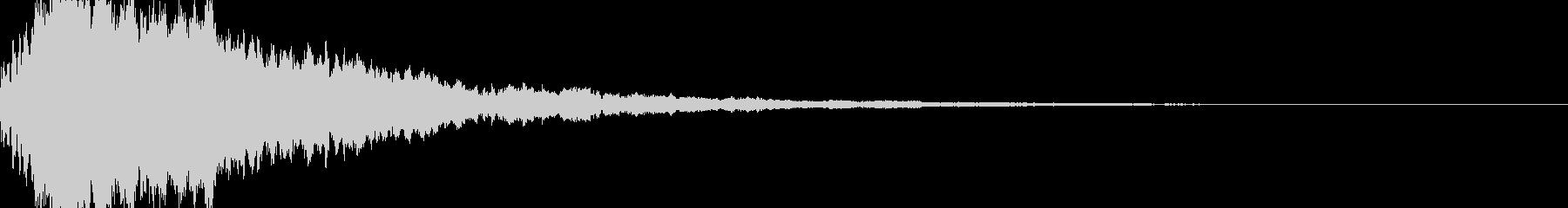 サウンドロゴ56の未再生の波形