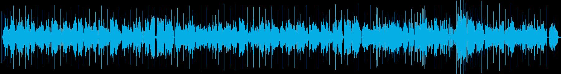 しんみりとしたバラードの再生済みの波形