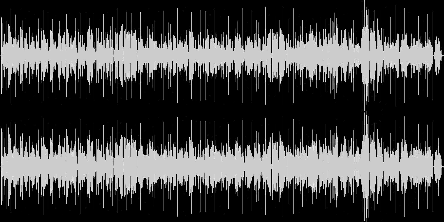 しんみりとしたバラードの未再生の波形