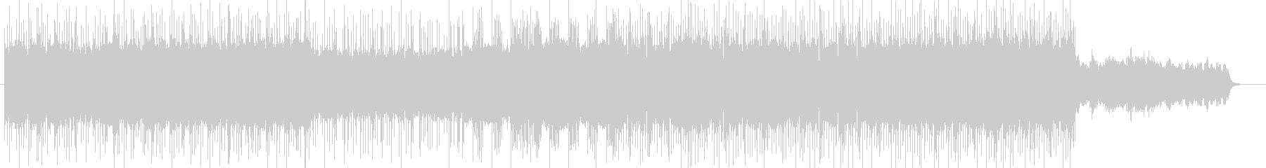 「ハードロック/ロック」BGM83の未再生の波形