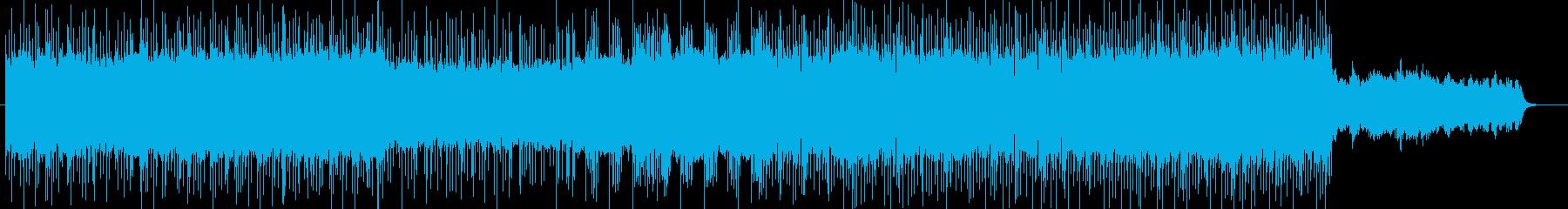 「ハードロック/ロック」BGM83の再生済みの波形
