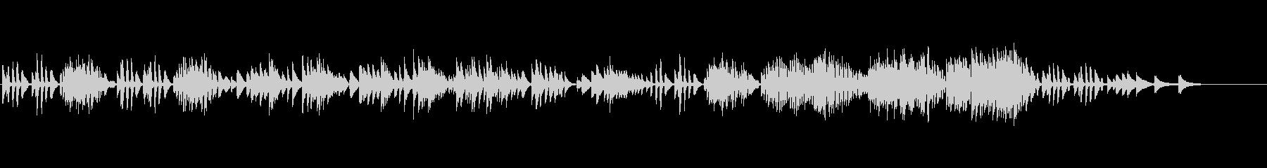 ベートーヴェン「11のバガテル」よりの未再生の波形