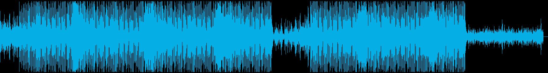 ソウルフルなトラップビートの再生済みの波形