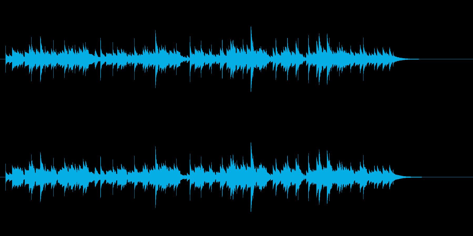 ウクレレ1本のみ(アルペジオ系メロディ)の再生済みの波形