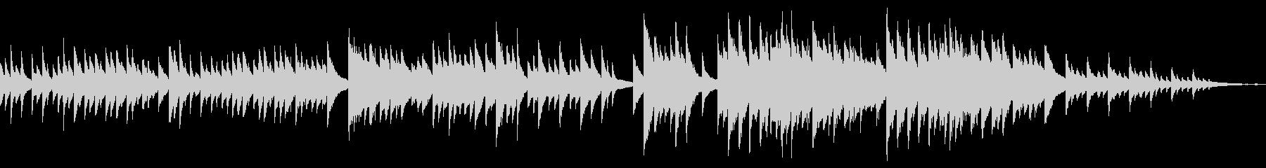 ループ しっとり悲しい 切ないピアノソロの未再生の波形