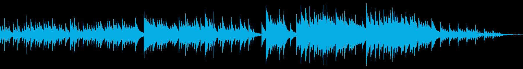 ループ しっとり悲しい 切ないピアノソロの再生済みの波形