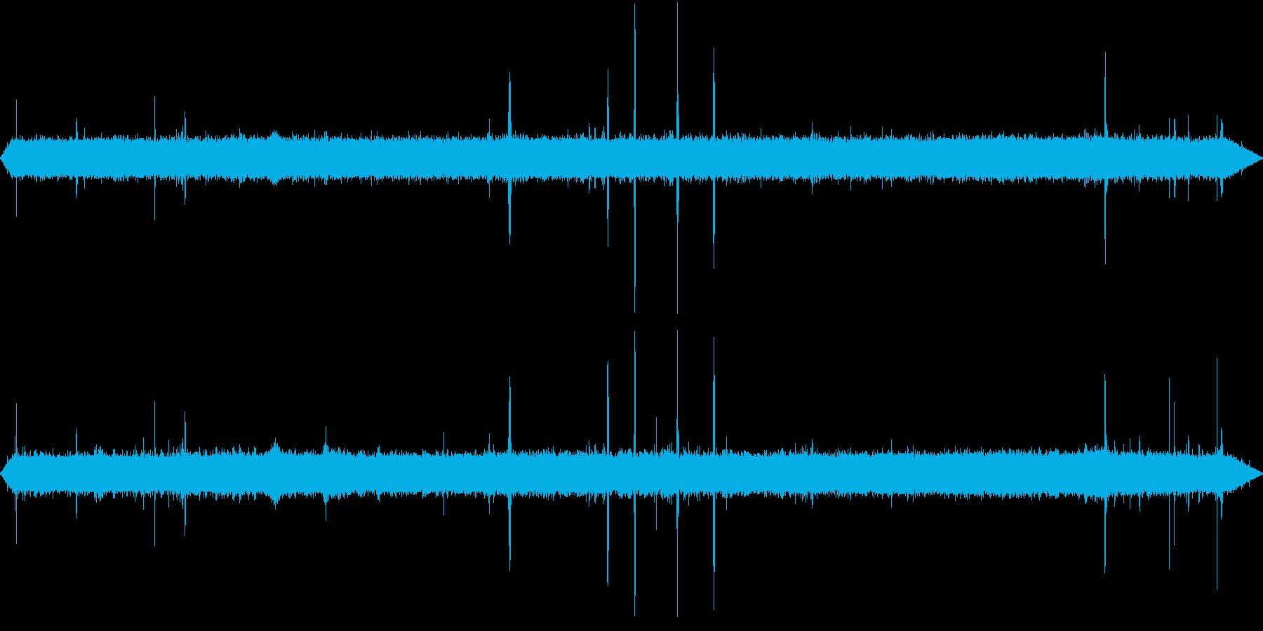 【自然音】朝の風景01(軽井沢)の再生済みの波形