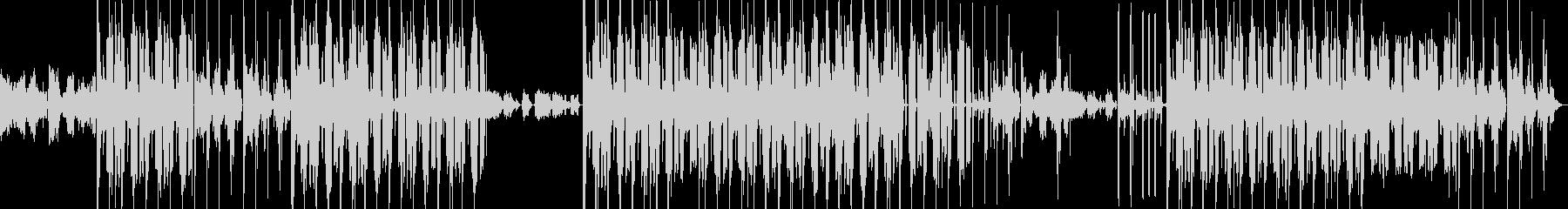 メロディアスR&Bニュー・ソウルインストの未再生の波形
