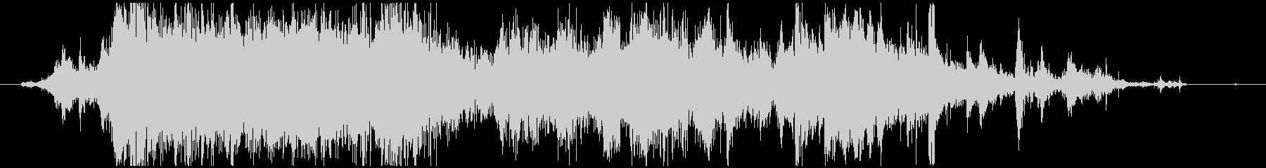 メタル 大音量03の未再生の波形