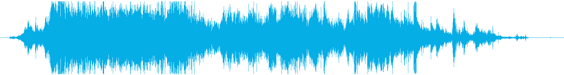 メタル 大音量03の再生済みの波形