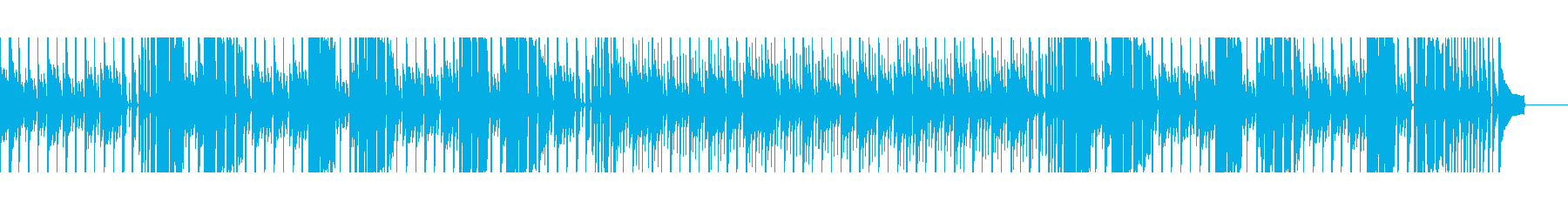 【短いVer6】スローブルースの再生済みの波形