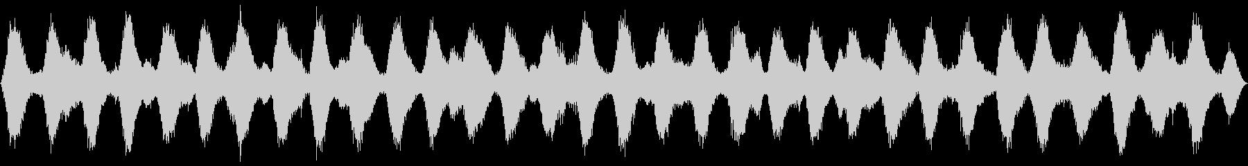 ループ再生可能!3分間の波音の未再生の波形