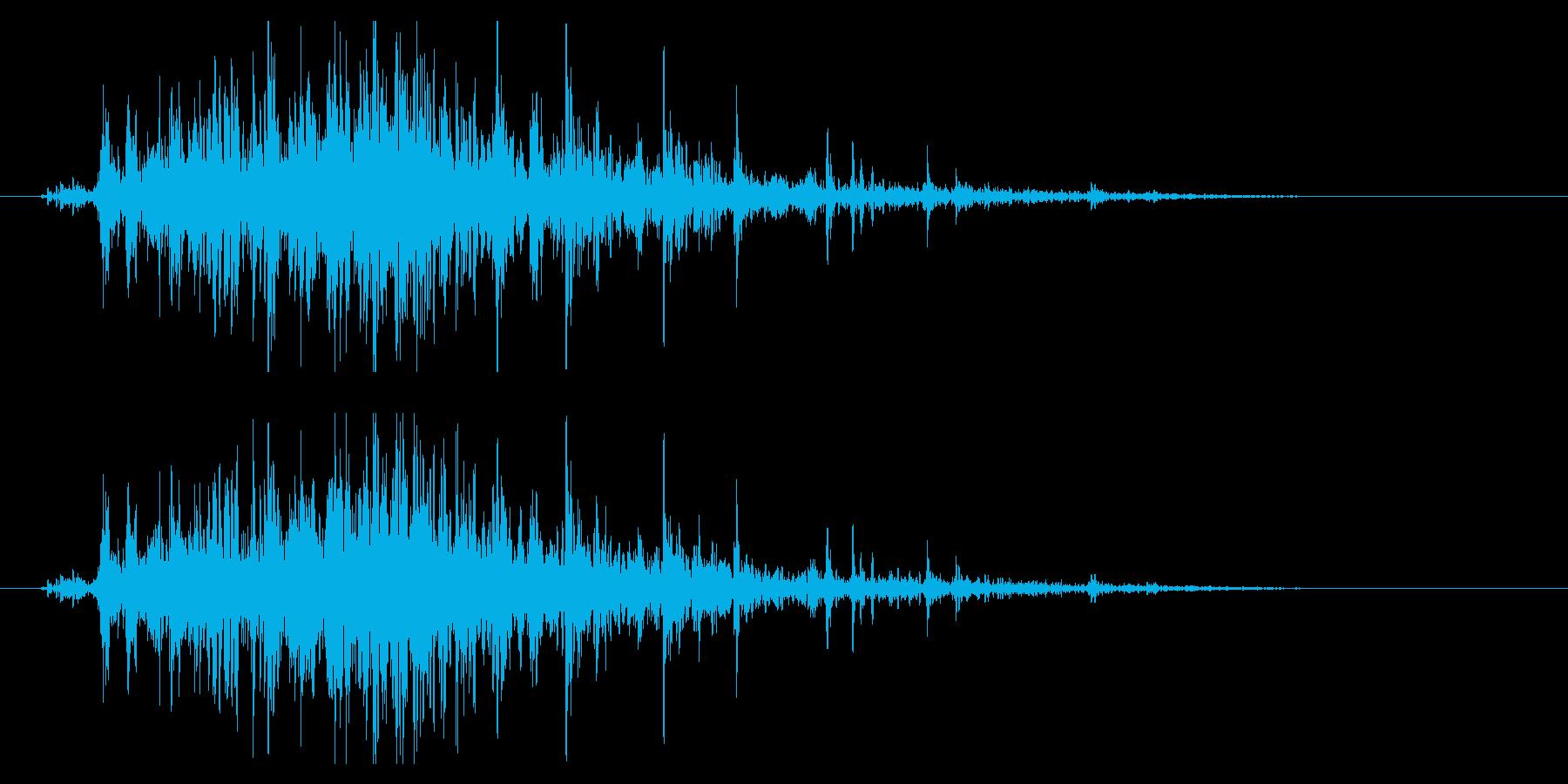 シャラララ(鈴の音・広がる・神秘的)の再生済みの波形