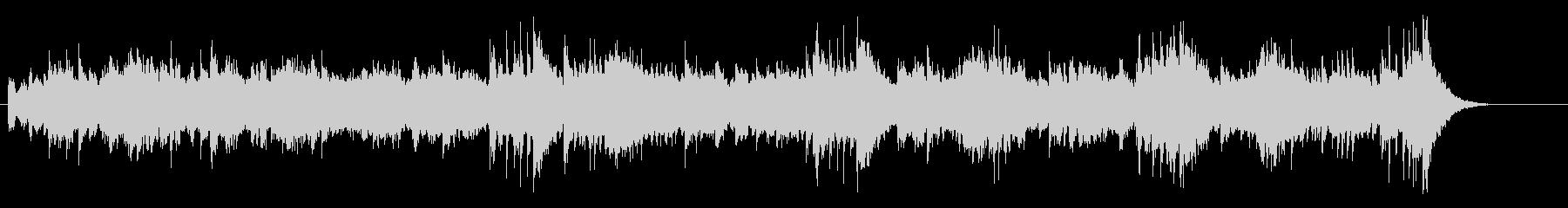 重厚なノンフィクション系のマイナーBGMの未再生の波形