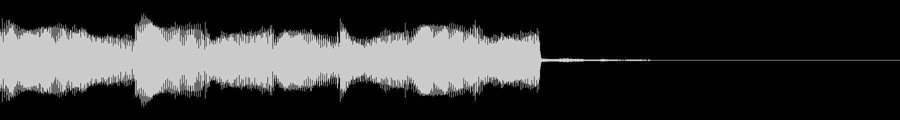 緊迫・怪しい・不吉な効果音の未再生の波形
