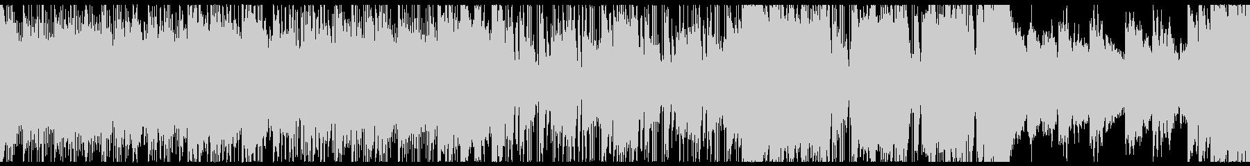 レトロなテクノ・Synthwaveループの未再生の波形