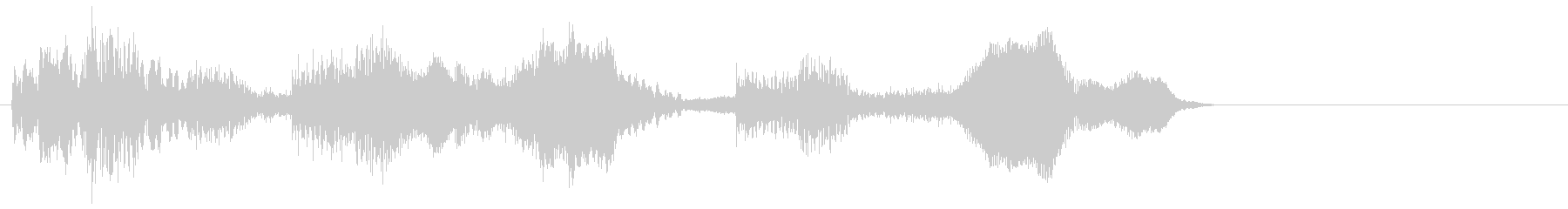 ピコリリピコリ(レトロなコンピューター)の未再生の波形