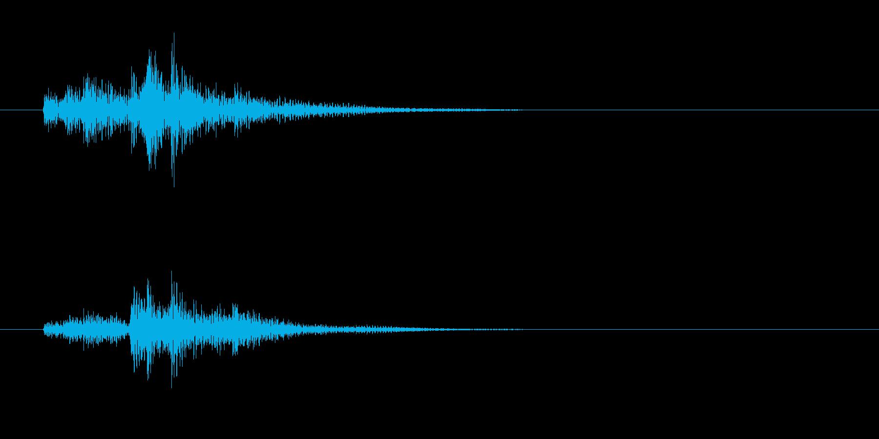 ティンパニ、(手)、ロールアクセン...の再生済みの波形