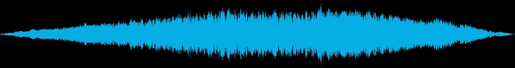 ディープスペーススタティックトーン...の再生済みの波形