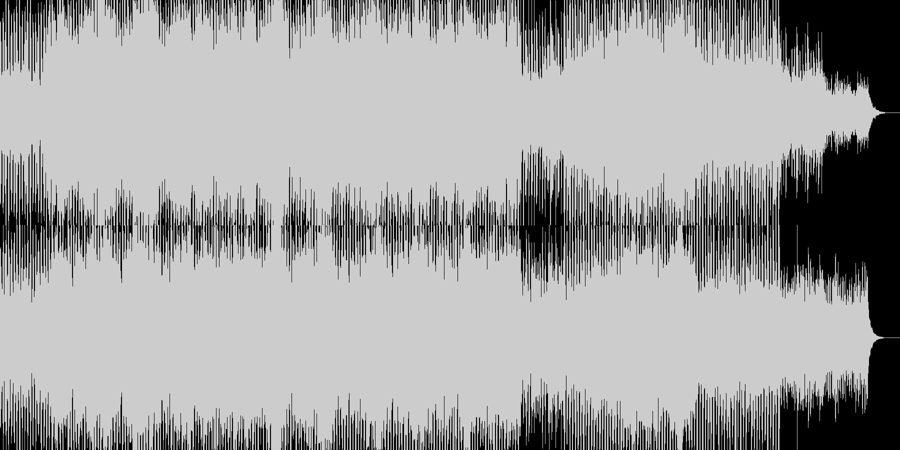 未来都市のイメージのアーバンミュージックの未再生の波形