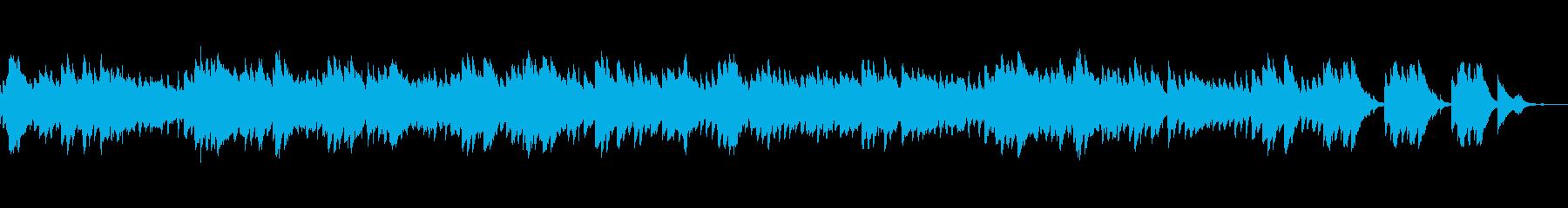 自律神経に寄り添う ラ・カンパネラの再生済みの波形