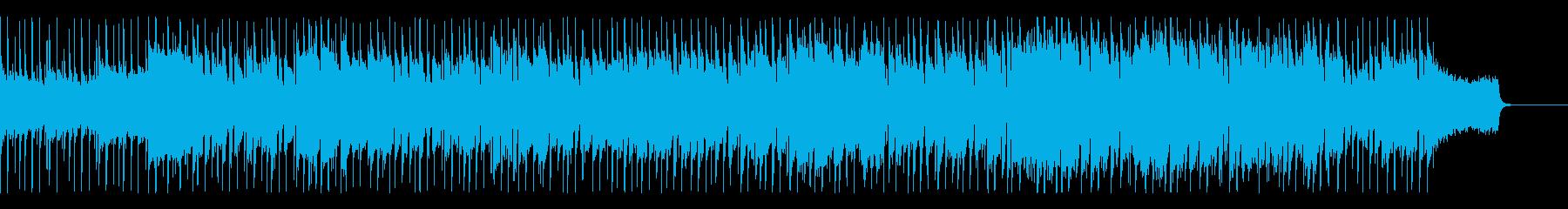 バグパイプとフィドルの爽やかなロックの再生済みの波形
