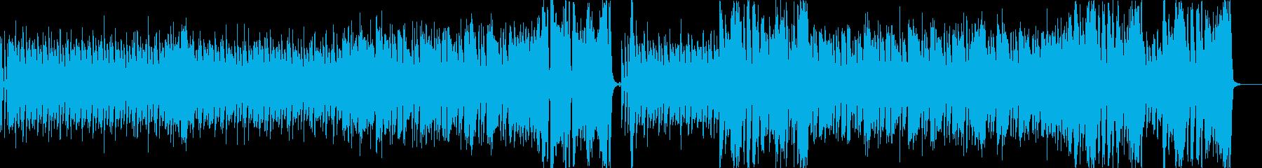 CLAVINET ファンク&ソウルの響きの再生済みの波形