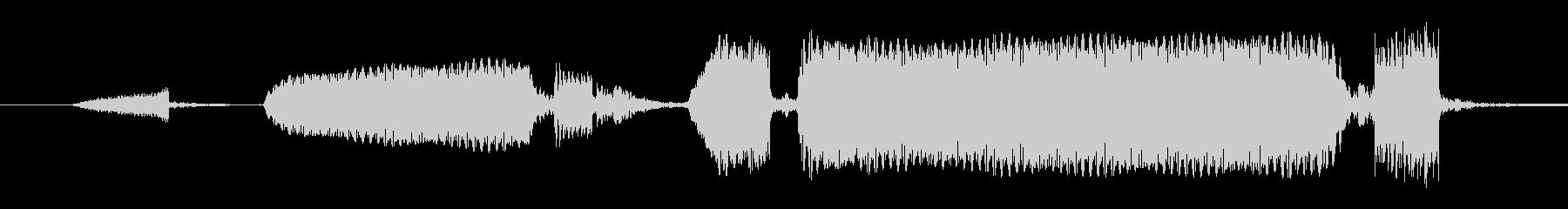 ビープ音04の未再生の波形